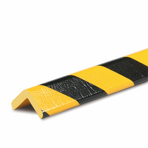 "Foam Guard, Type E, self-adhesive, black/yellow, 39.4"" X 1"", 82-5396"