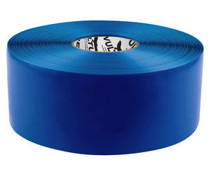 "Floor Marking Tape, Solid, Continuous Roll, 4"" Roll, 1 EA, 45VR67"