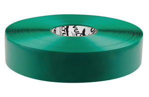 "Floor Marking Tape, Solid, Continuous Roll, 2"" Roll, 1 EA, 45VR01"