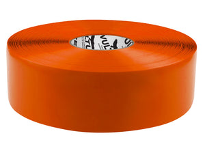 "Floor Marking Tape, Solid, Continuous Roll, 3"" Roll, 1 EA, 45VP93"