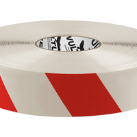 "Floor Marking Tape, Striped Hazard, Continuous Roll, 2"" Roll, 1 EA, 45VR13"