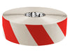 "Floor Marking Tape, Striped Hazard, Continuous Roll, 3"" Roll, 1 EA, 45VP88"