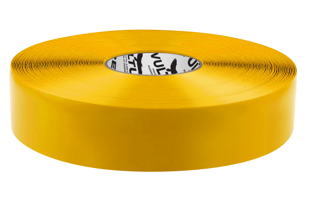 "Floor Marking Tape, Solid, Continuous Roll, 2"" Roll, 1 EA, 45VR66"