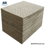 Fine Fiber Gray Heavy Pad 15 X 18 Pk Of 100
