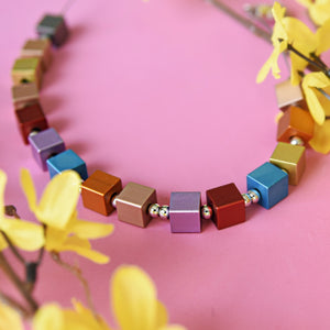 Rainbow Lightweight Fashion Necklace