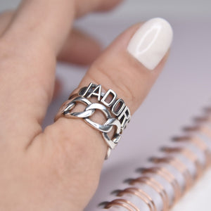 J'adore Sterling Silver Ring