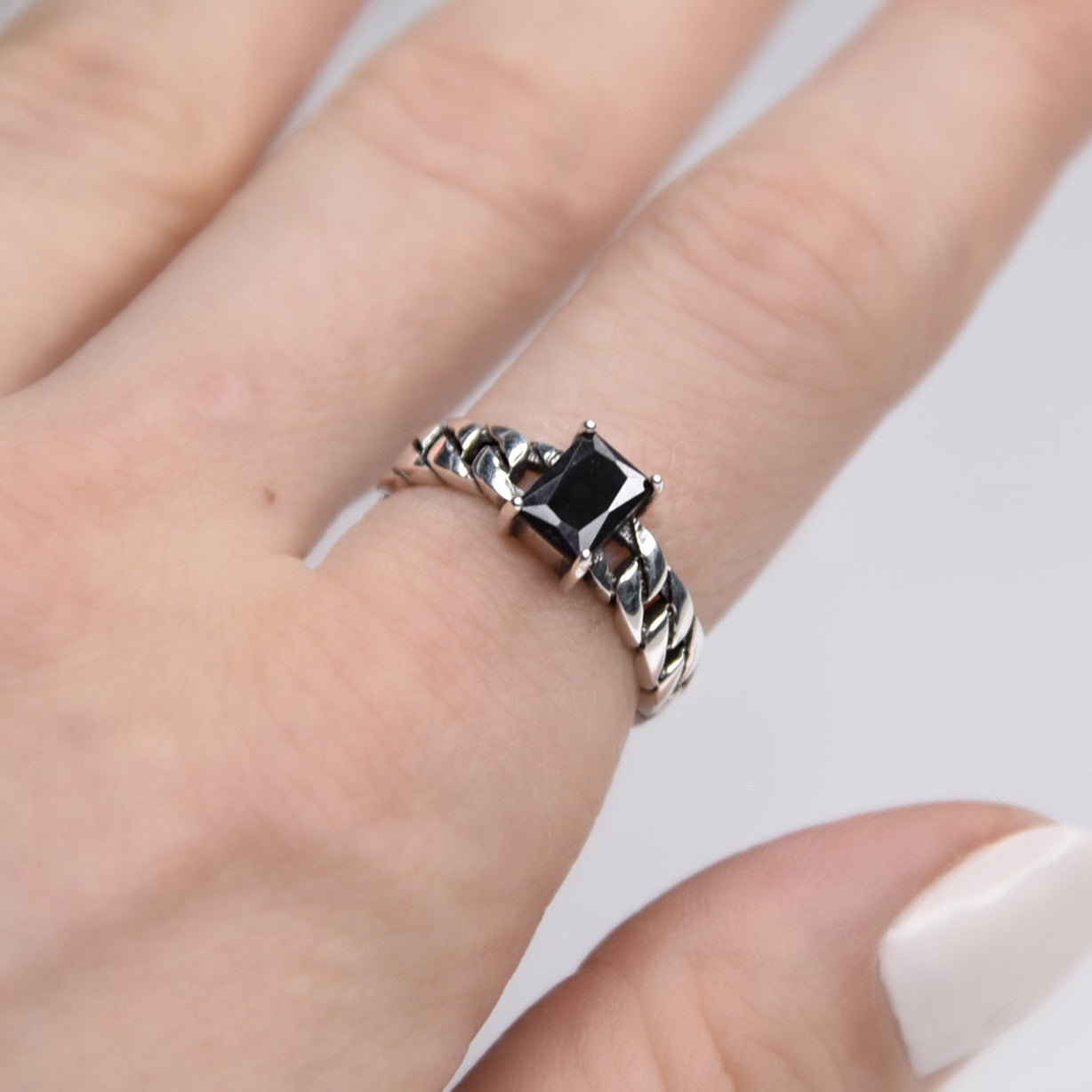 Orla Sterling Silver Ring