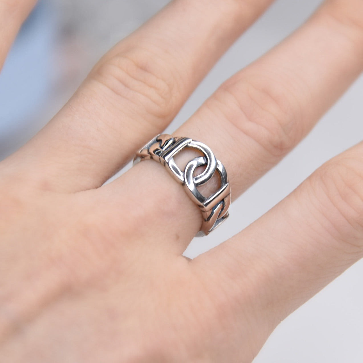 Evelyn Sterling Silver Ring