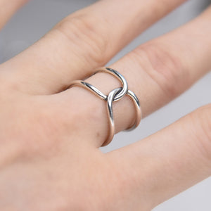 Ivy Sterling Silver Ring