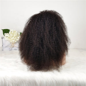 "PERRUQUE BRÉSILIENNE ""OPRAH""  KINKY CURLY LACE FRONTALE 13*4"
