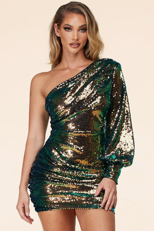 "MINI ROBE SEQUIN ""ARIEL"""