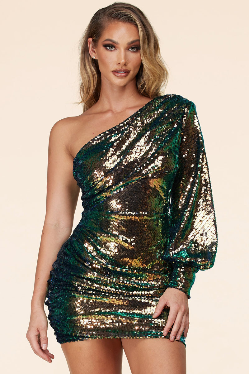 MINI ROBE SEQUIN