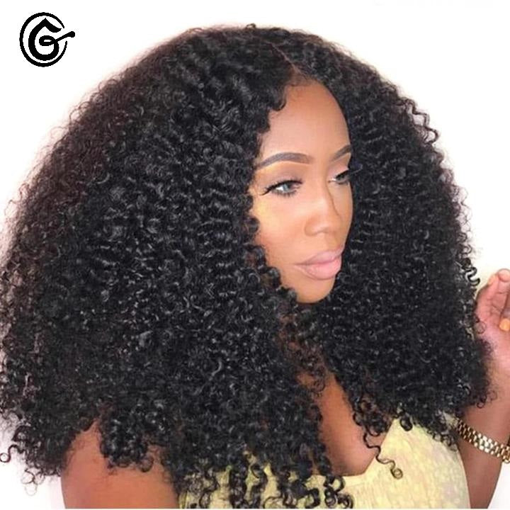 PERRUQUE AFRO KINKY VERITABLE CHEVEUX MONGOL