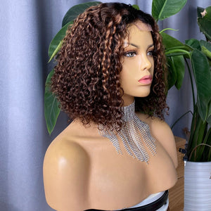 "PERRUQUE ""ASCAGNE"" BRÉSILIENNE HIGHLIGHT HAIR CLOSURE"