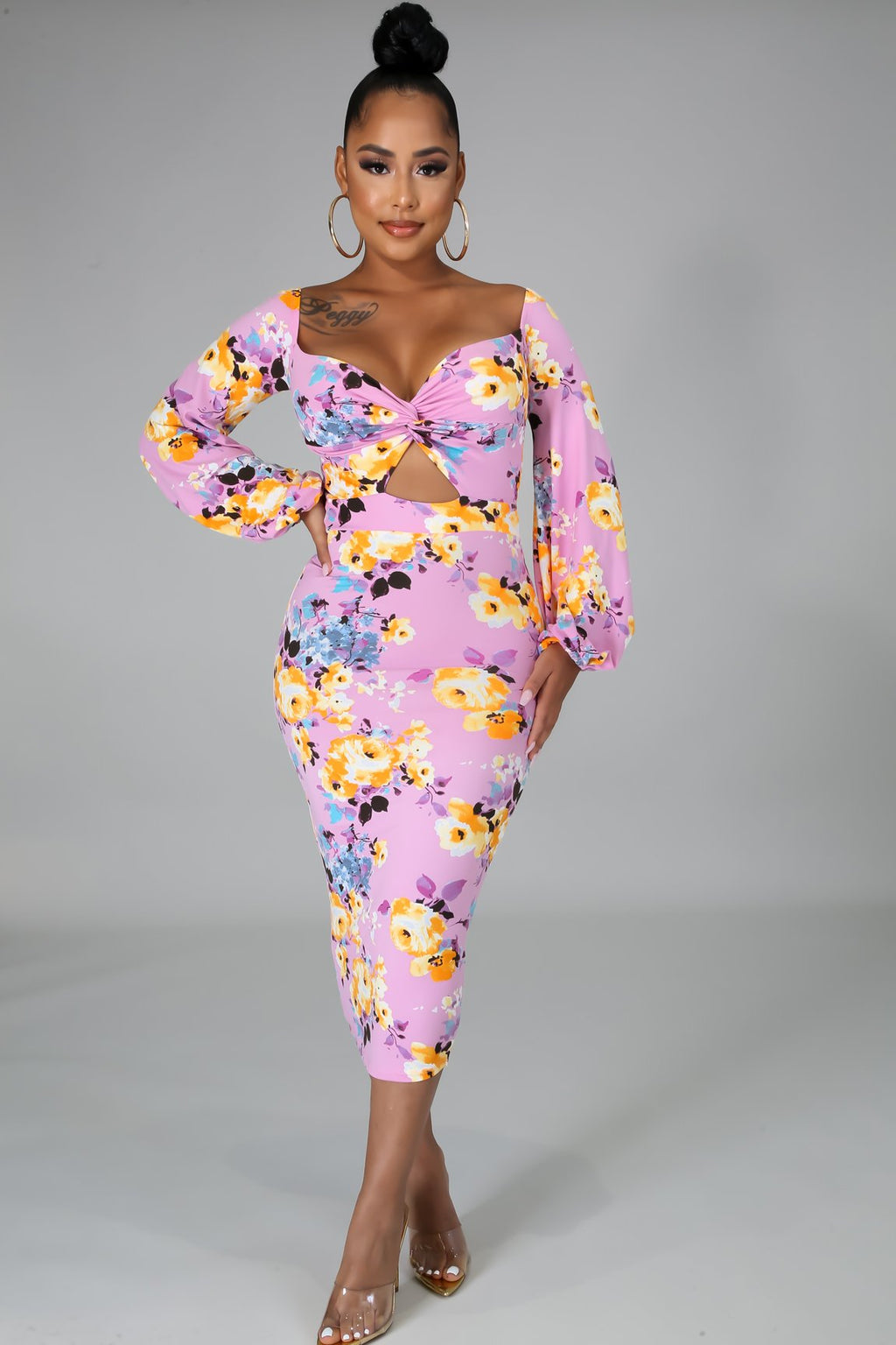 ROBE FLORALE MARGAUX