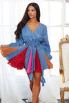 "ROBE DENIM ""VALENTINA"""