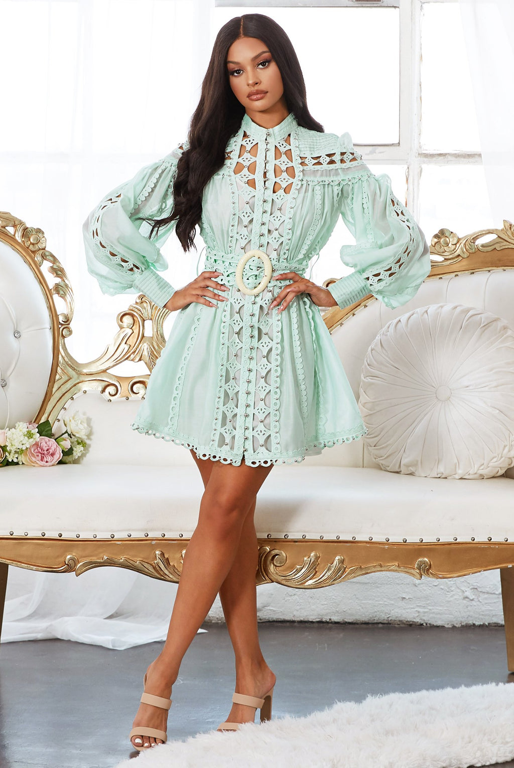 "ROBE GLAMOUR ""ANGELICA"""