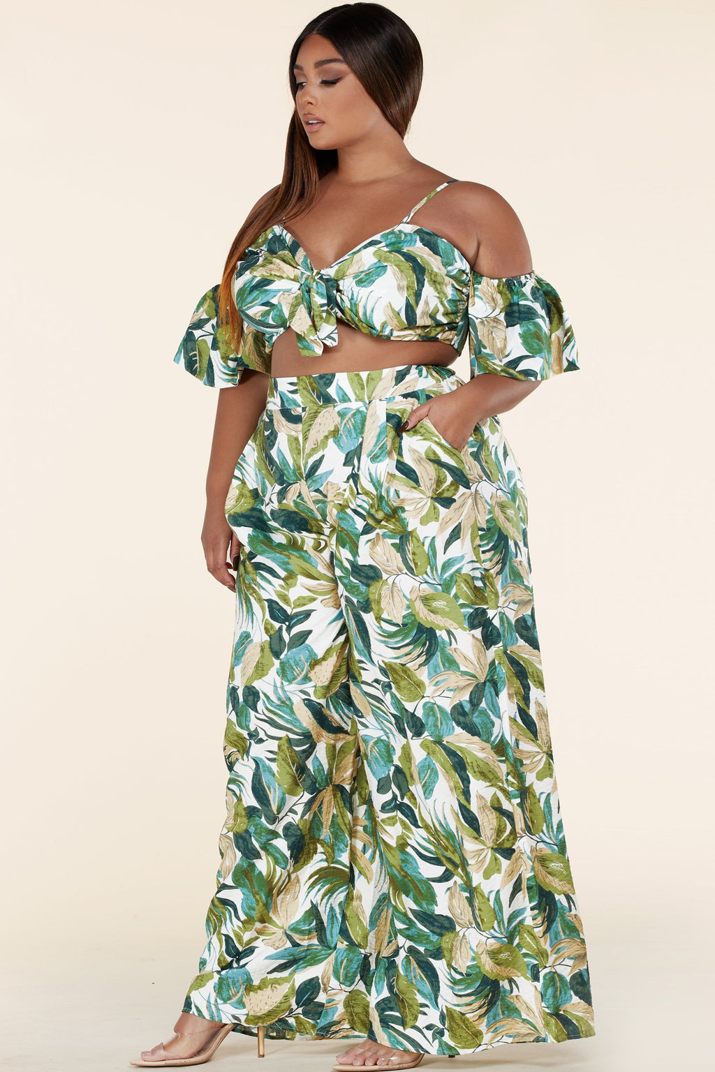 "ENSEMBLE ""KAMERON"" SUMMER LEAF"