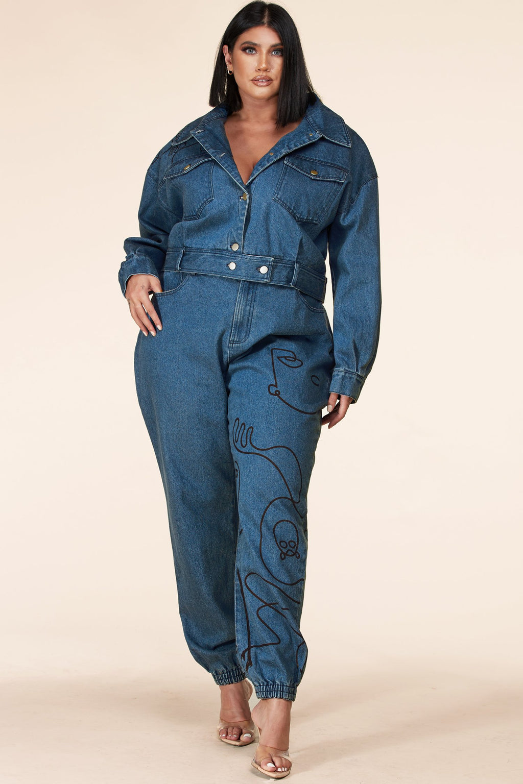 "ENSEMBLE DENIM ""SARAH"""
