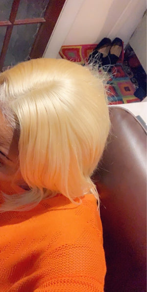 PERRUQUE - LACE WIG LISSE - BLONDE
