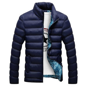Thick Jacket Men Autumn&Winter Men's Cotton Blend Mens Bomber Jacket and Coats Casual Thick Outwear Casaco Masculino 4XL-cgabuy