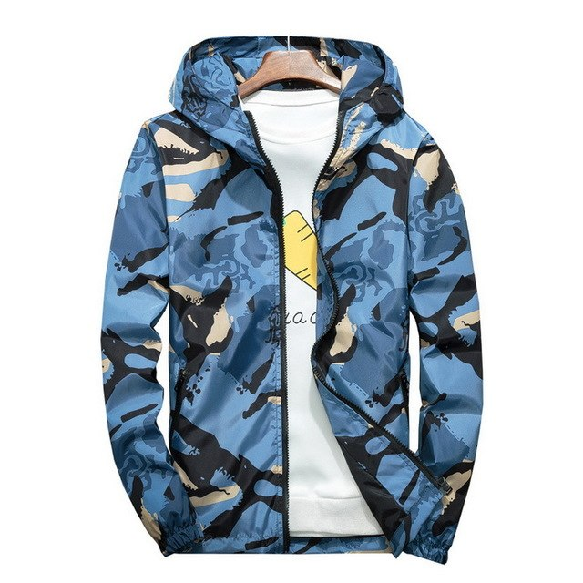 Grandwish Plus Size 5XL 6XL 7XL Camouflage Jacket Men Bombers Military Mens Hooded Windbreaker Large Size Men's Jacket ,DA569-cgabuy