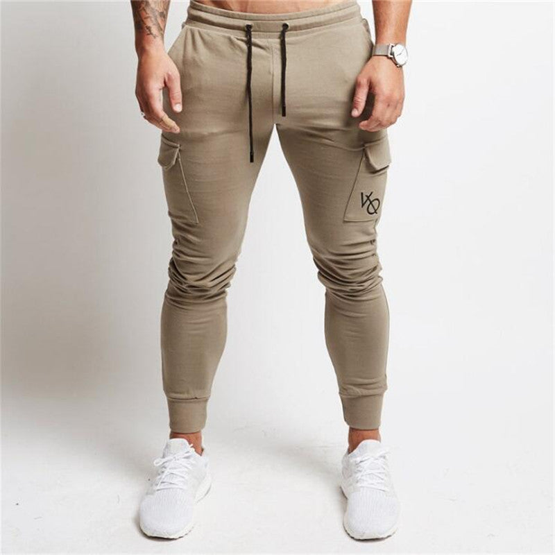 VANQUISH 2018 NEW gyms Mens Joggers Pants Fitness Casual Fashion Brand Joggers Sweatpants Bottom Snapback Pants Men Casual Pants-cgabuy