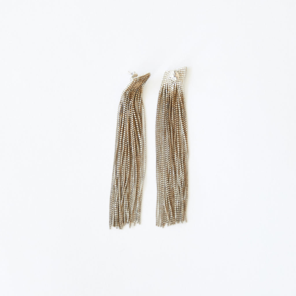 Tassle Earrings Bronze