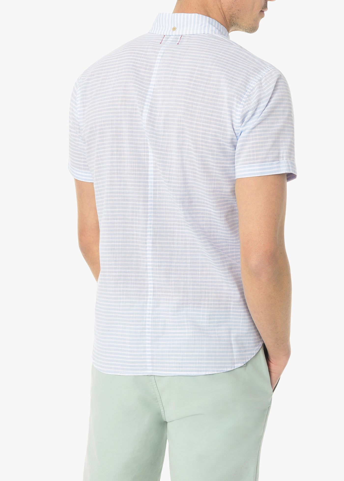 CROSS HATCH POPLIN