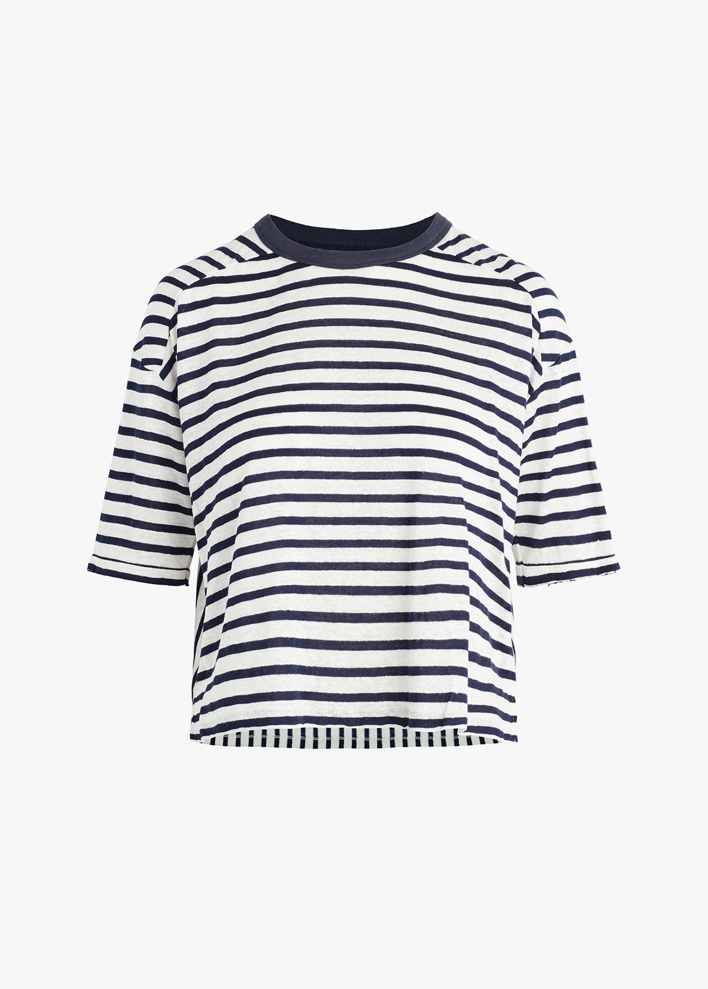 NAVY / WHITE STRIP