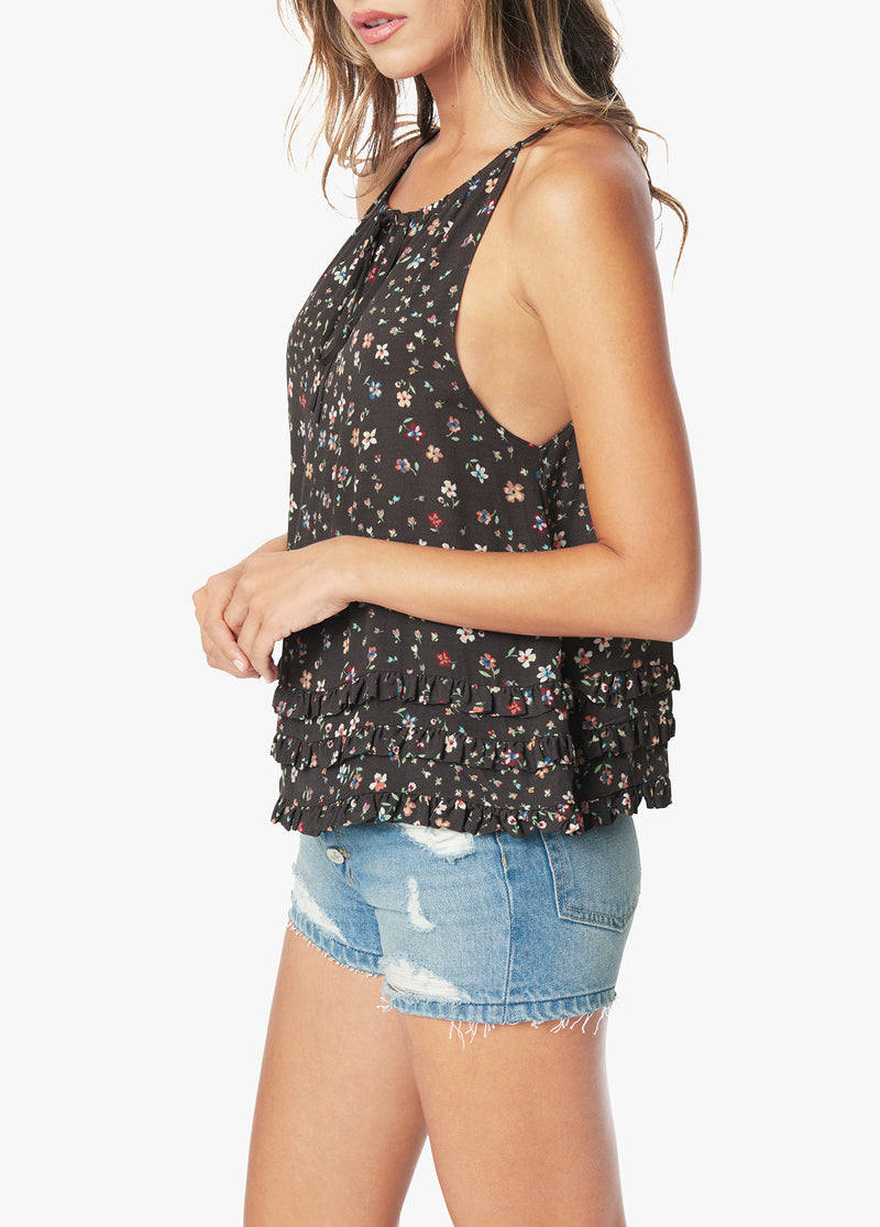 THE HALTER NECK RUFFLE TOP