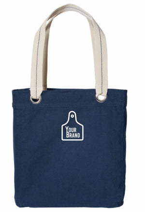 Cow Tag Allie Tote