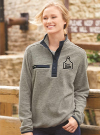 Ladies Cow Tag Dri Duck Aspen Pullover