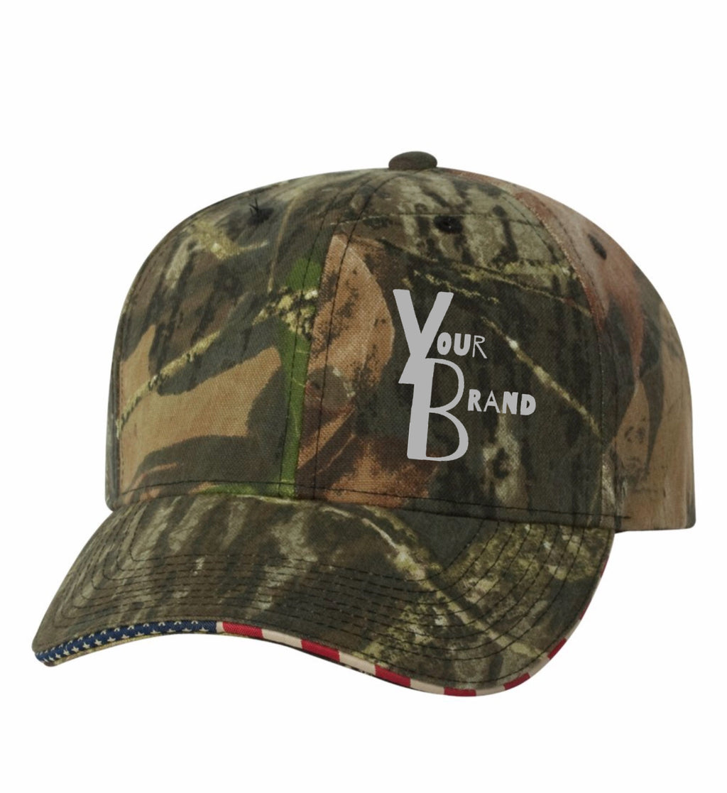 Just Your Brand Outdoor Cap USA Visor
