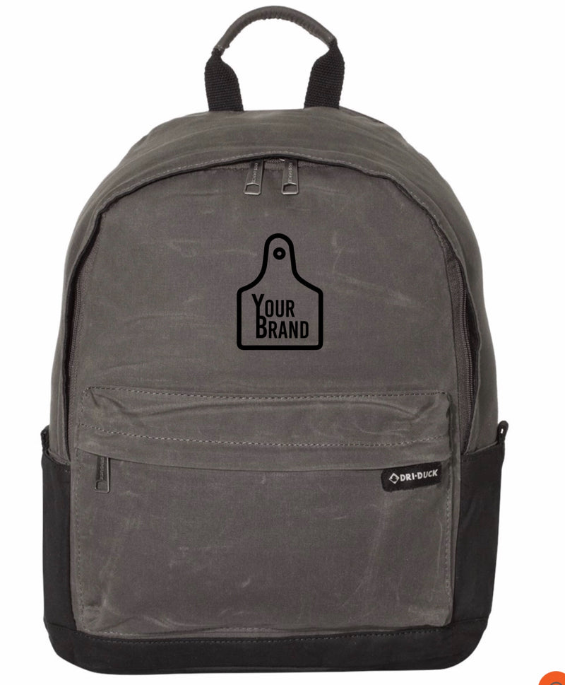 Cow Tag Dri Duck Essential Backpack 20L