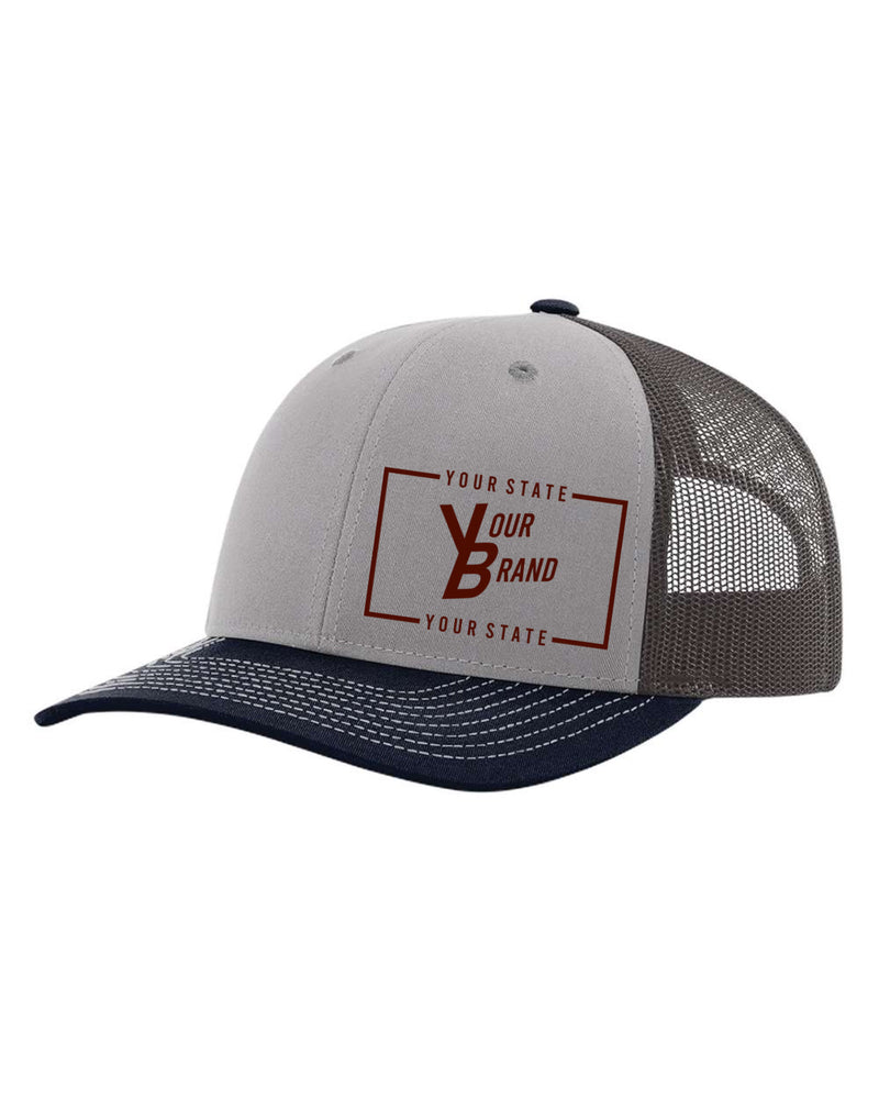 Your STATE with Your BRAND 112 Trucker