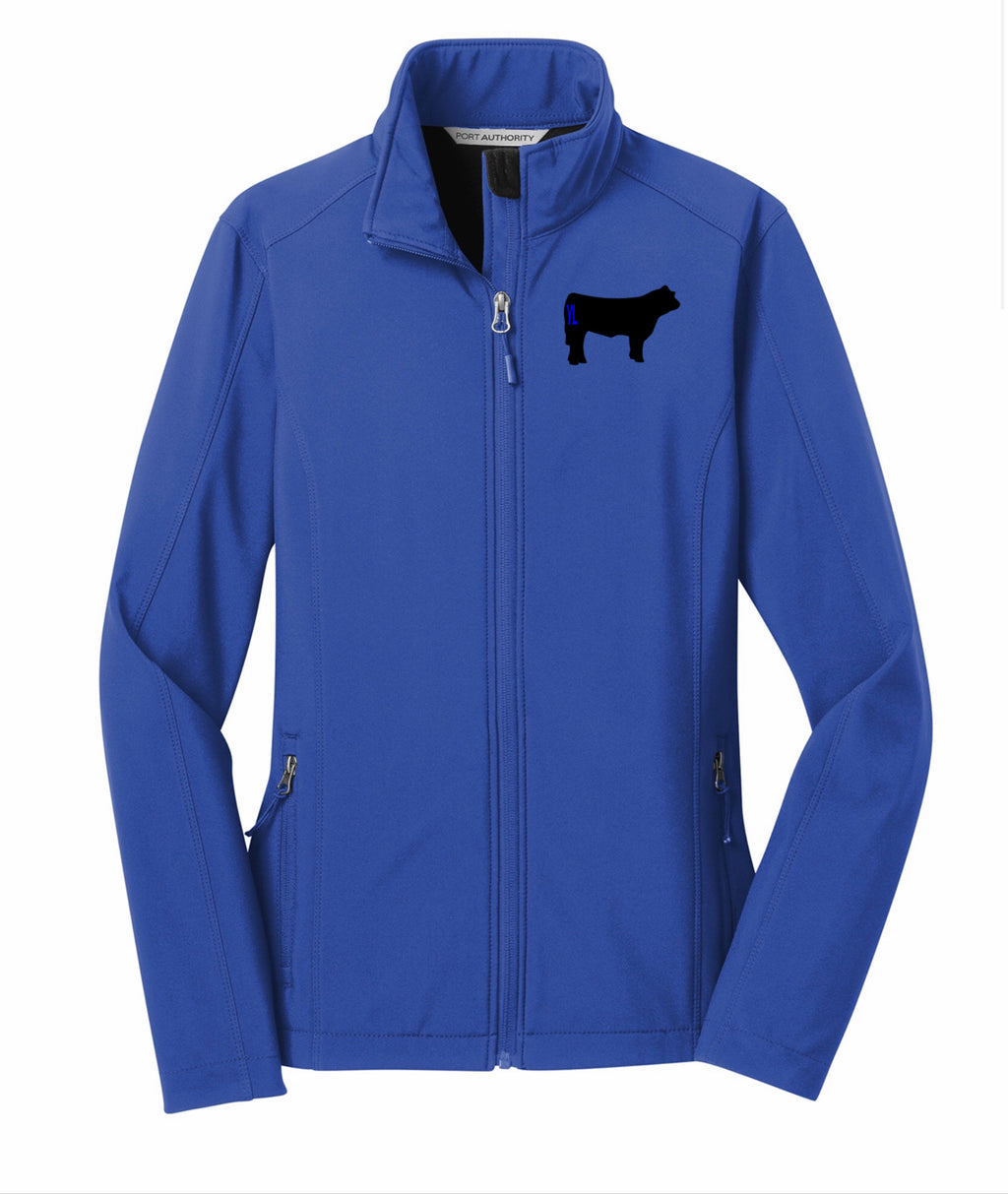 Branded Cow Ladies Core Soft Shell Jacket