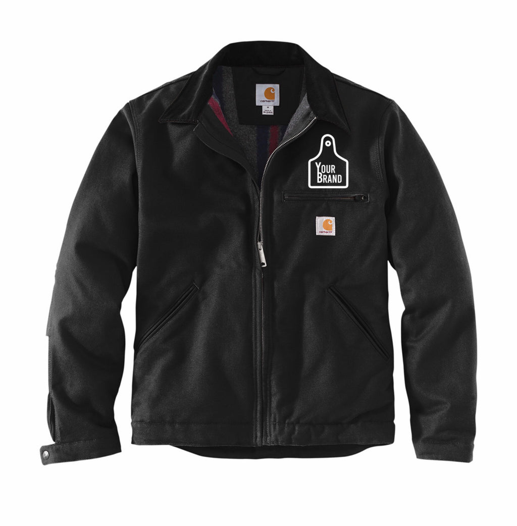 Cow Tag Carhartt Duck Detroit Jacket