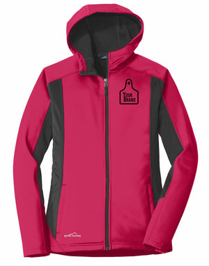 Ladies Cow Tag Eddie Bauer Trail Soft Shell