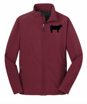 Branded Cow Mens Core Soft Shell Jacket
