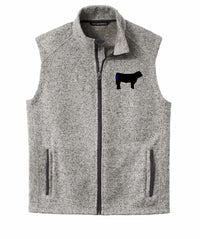 Branded Cow Men's Fleece Vest
