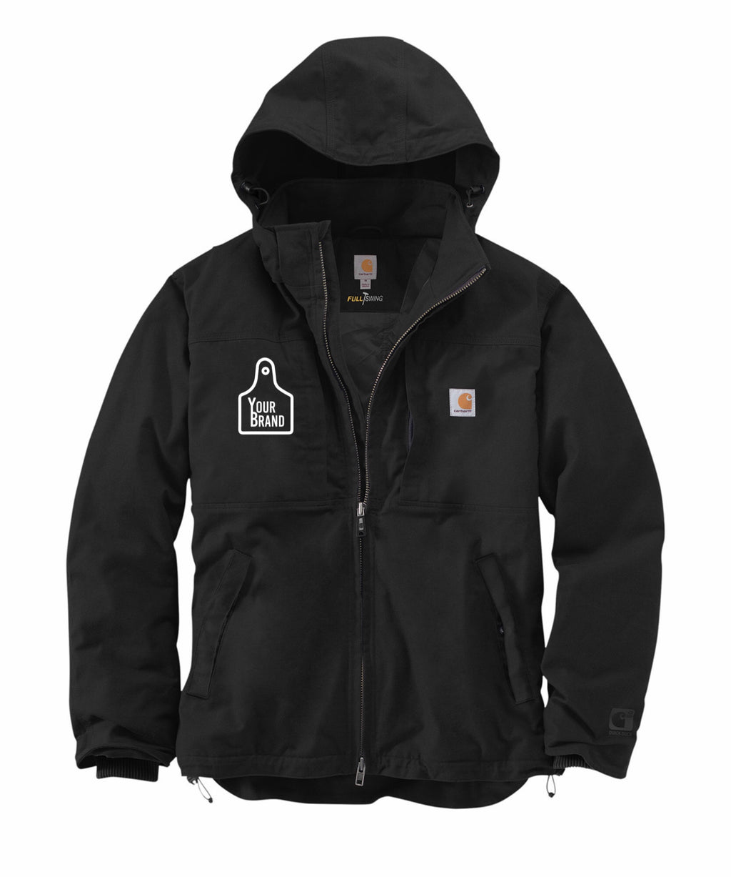 Cow Tag Carhartt Full Swing Cryder Jacket