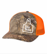 Cow Tag Richardson 112P Pattern and Prints Hats