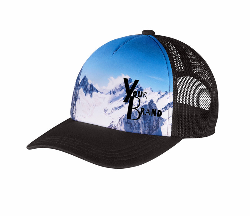 Just Your Brand Scenery Trucker Hat