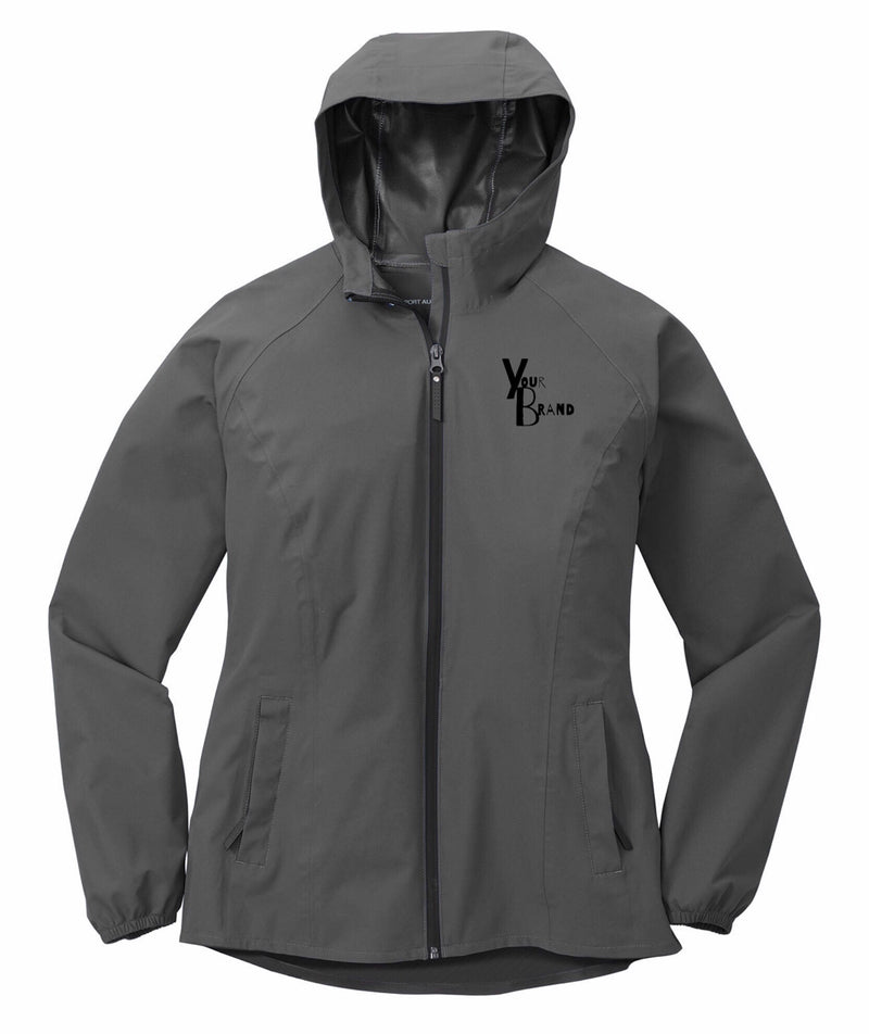 Ladies Just the Brand Essential Rain Jacket