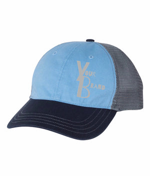 Just your Brand Richardson Garment Washed Trucker Hat