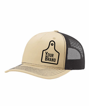 Cow Tag Branded 112FP Trucker Style Hat