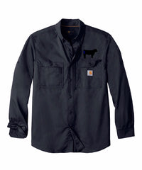 Branded Cow Carhartt Ridgeline Long Sleeve Shirt