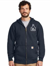 Carhartt Cow Tag Mid-Weight Zip Up Hoodie
