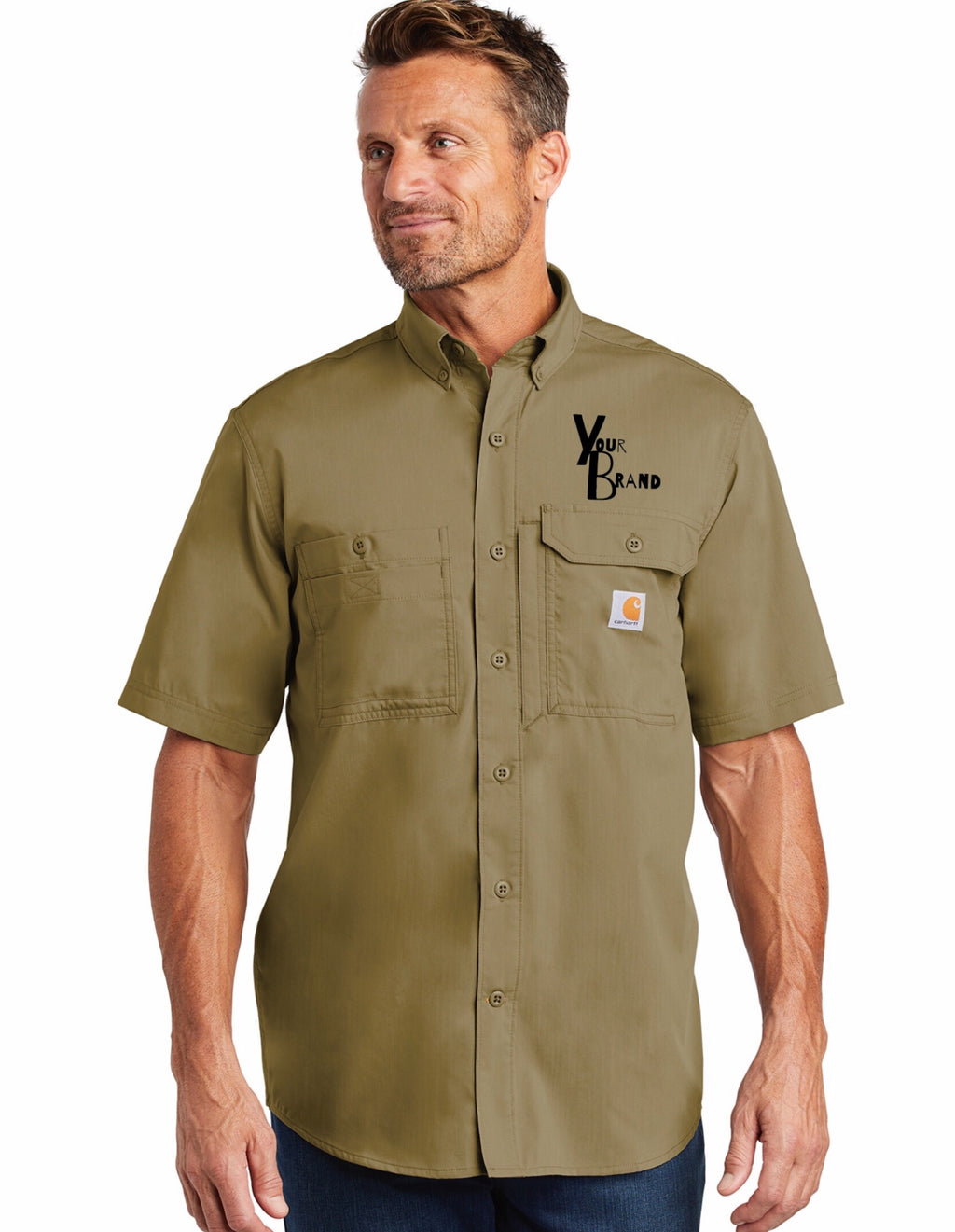 Carhartt JUST the BRAND Force Ridgeline Short Sleeve Shirt